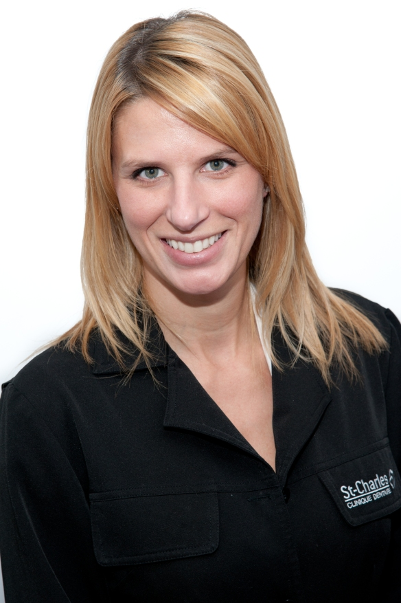 Nathalie Charron, denturologiste