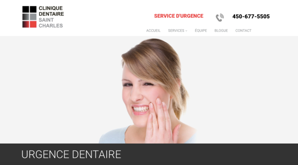 Urgence dentaire Clinique St-Charles.png
