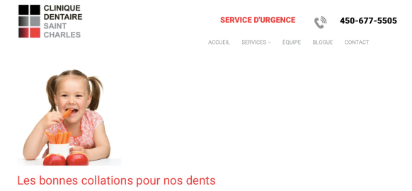 Collations pour les dents Clinique dentaire Saint- Charles.png